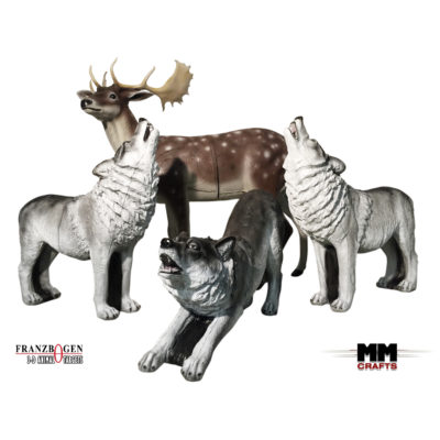 3D Wildlife Targets
